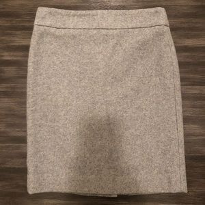 J Crew Wool Skirt. Size 2